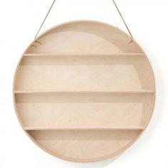 Craquez pour l'étagère ronde the round dorm Ferm Living en vente sur la boutique en ligne Pop-line. Livraison offerte dès 85€