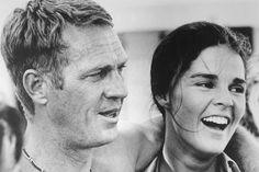 Parejas iconicas de la historia para celebrar San Valentin: Ali MacGraw y Steve McQueen