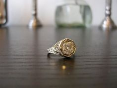 love this vintage engagement ring...i can have two rings, right? accessorize