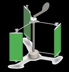 Maquette d 39 une olienne construire une olienne fabriquer une eolienn - Mini eolienne verticale ...