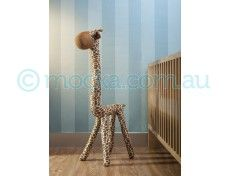 Mocka Bendy Giraffe - Gerald with Aspiring Cot