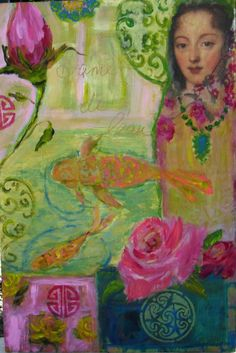 Lady of the Water....Artist: Susan Brown