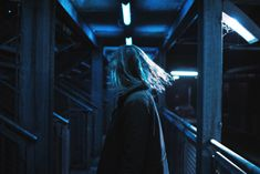 girl, aesthetic, and blue image Night Aesthetic, Blue Aesthetic, Cinematic Photography, Portrait Photography, Neon Photography, Aquarius Aesthetic, American Horror Story, In This Moment, City