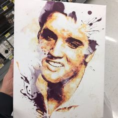 epuopolo added a photo of their purchase Poster Prints, Art Prints, Poster Poster, Posters, Watercolor Portraits, Elvis Presley, Original Art, The Originals, Drawings