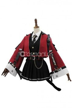New arrivals Arknights SkyFire Cosplay Costume is online Teen Fashion Outfits, Edgy Outfits, Cosplay Outfits, Anime Outfits, Mode Outfits, Cosplay Costumes, Girl Outfits, Kawaii Fashion, Lolita Fashion