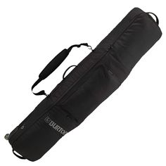Planes, trains, buses and automobiles ... your board will travel in style and be protected in Burton's Gig Wheelie travel bag. The Gig features fully padded 600D polyester, can hold multiple boards an