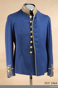 Tunic for Officers at the Army Corps of Engineers. Army Corps Of Engineers, High Neck Dress, Tunic, Coat, Jackets, Dresses, Fashion, Sweden, Turtleneck Dress