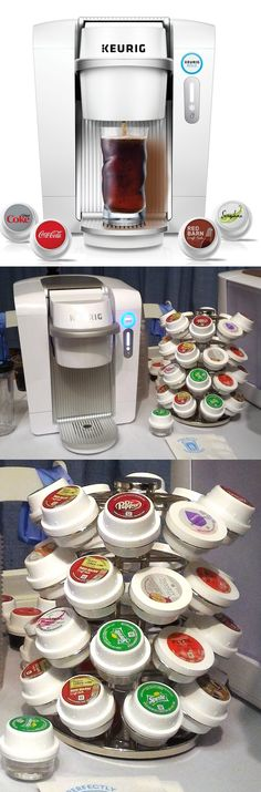 Now that's cold: Keurig KOLD ($370) uses the same concept as @Keurig single-serve coffeemakers, but mixes cold drinks from genuine Coca-Cola to mojitos and margaritas. KOLD pods ($4.50 to $5 per four-pack) are different from coffee pods, but work the same way: Remove a freshness seal, place in the KOLD unit and press a button. Some pods have carbonation beads which release CO2 when cold water hits them. You'll have to add your own hard liquor, but KOLD cocktail pods contain everything else.