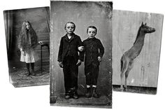 Ransom Riggs, author of Miss Peregrine's Home for Peculiar Children, is Inspired by Vintage Snapshots - NYTimes.com