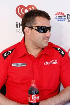 Tony Stewart - iHeartRadio and Coca-Cola Team Up for Summer Concert