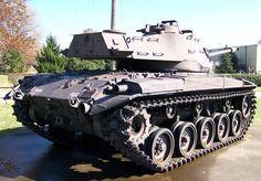 Usa fighting vehicles M41 Walker Bulldog
