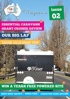 After a great response to our first ever e-Magazine we're back with issue 2 where we check out the Essential Caravans Grant Cruiser, talk about our upcoming Tassie Road trip. Road Trip Essentials, E Magazine, Free Travel, Caravans, Adventure Awaits, No Response, How To Plan, Check