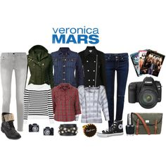 """Veronica Mars Inspired Fashion"" by karissamartinez on Polyvore"