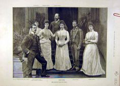 Victorian Family Photos | ... Prince Wales Family-portrait Royal Victorian | Old-print.com Limited