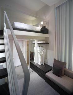 HOTEL: studio m hotel, singapore. DESIGN: piero lissoni and ong