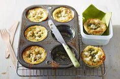 Courgette and Feta Bakes | Packed Lunch Ideas | Tesco Real Food - Tesco Real…
