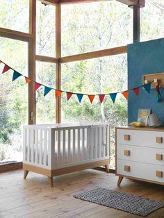 Ideas de Decoración nórdica para la habitación del bebé