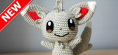 Minccino - Pokemon - Crochet Pattern - Amigurumi