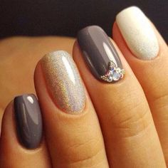 50+ Eyecatching Fall Nail Designs For Thanksgiving Ideas Check more at http://lucky-bella.com/eyecatching-fall-nail-design/