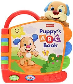 Every time your little one turns the pages of this great first baby book Puppy sings the ABC song for the letters shown. Press the 'ABC' button to hear Puppy read baby each letter and the name of an ...