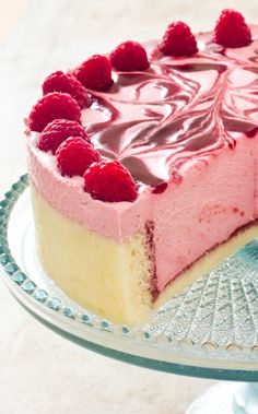 Raspberry Charlotte. To make a Charlotte Russe for the modern cook, we swap the sponge for a simple and quick-baking chiffon cake and use a foolproof homemade raspberry curd lightened with whipped cream and a tad of gelatin for structure in place of a fussy, high-moisture crème anglaise.