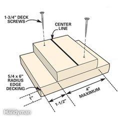baluster spacing jig