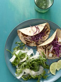 Grilled Fish Tacos #myplate #fish #grill #memorialday #Mexican