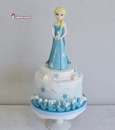 Frozen Elsa cake - Cake by Naike Lanza