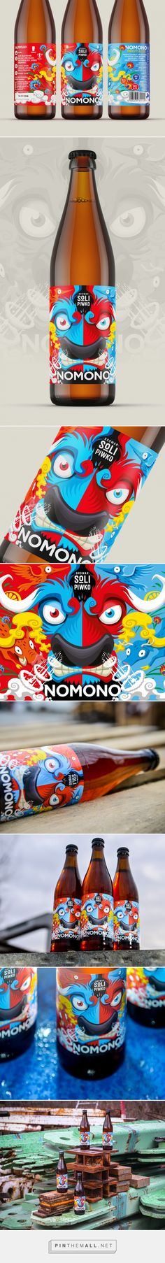 NOMONO Freestyle Polish IPA label (Poland) - http://www.packagingoftheworld.com/2016/02/nomono-freestyle-polish-ipa.html