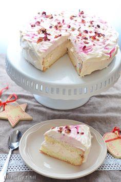 Genoise Rose Cake