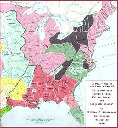 Tribal Map (Eastern U.S.)