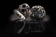 ANEL   Prata e ouro, onix , cristal rocha, ametista verde. RING   Silver and 9kts gold, onyx, rock cristal and green amethyste. AN0085 #MarcoCruzJoalheiro #Jewelry #Joias #Classic #Portugal #Silver #Jewels