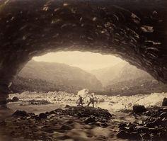 Unter Grindelwald Gletscher. Hs_1458-GK-B058-1860-02