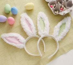Sherpa Bunny Ears #PotteryBarnKids ~ how fun!