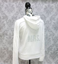 Bride Sweatshirt Jacket. Custom Rhinestone Hoodie. Mrs. Sweater. Bridesmaid Bridal Party Shirts.  Wedding gift. Bachelorette Hen Party on Etsy, $36.29 CAD                             WANT THESE FOR MY GIRLS!!!!!!!!