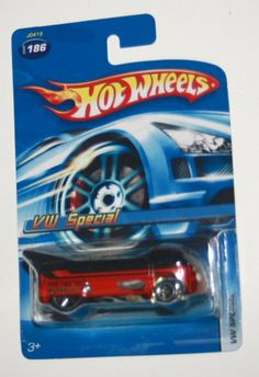 Hot Wheels VW Drag Bus was limited in # came with 10 KarKeepers? Maybe Walmart?