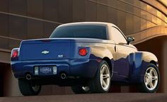 Photographs of the 2005 Chevrolet SSR. An image gallery of the 2005 Chevrolet SSR. Chevrolet Vega, Chevrolet Corvette, Gmc Trucks, Pickup Trucks, Chevy Ssr, Car Fails, Automobile, Truck Boxes, Super Sport