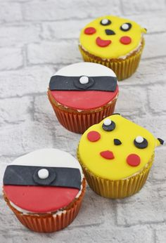 Pokémon GO Muffins - The inspiring life http://www.the-inspiring-life.com/2016/07/pokemon-go-muffins.html