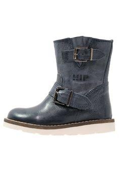 Hip Korte laarzen dark blue, 99.95, http://kledingwinkel.nl/shop/kinderen/hip-korte-laarzen-dark-blue-3/