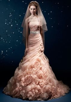 KITTYCHEN Charlotte. What a ridiculously ridiculous wedding dress. At the same time, I think I would totally wear this.