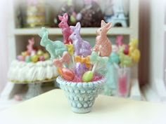 The Mini Food Blog: Happy Easter ~ Paris Miniatures