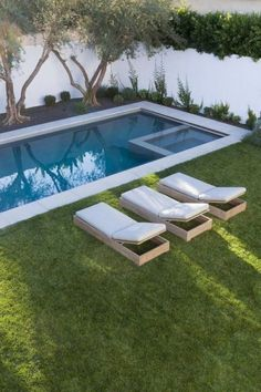 A tiny swimming pool is one of the greatest ideas if we have limited space but still want to have a beautiful exterior and outdoor space. And there are many swimming pool ideas which can provide smart shape to save more space in the house. But we need to