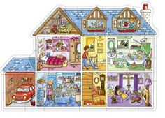 Orchard Toys - Puzzle - Maison de Poupées Orchard Toys http://www.amazon.fr/dp/B000A42CQ6/ref=cm_sw_r_pi_dp_A4Qhub16WZWWWSur Amazon ou au Magasin anglais Stonemanor
