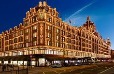 Harrods i Knightsbridge, Greater London
