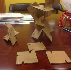 Abby the Librarian: Simple Solutions: Building Squares