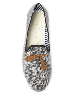 Rio Scottish Tweed Loafers by Charles Philip Shanghai.