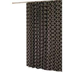 Amazon In-Style Geo Shower Curtain, Brown , Geometrics $17.79 shower curtains