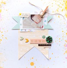#papercrafting #scrapbooking #layouts - You are the best by geekgalz at @studio_calico