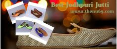 Shop from best online store of Jodhpuri Jutti with more comfort!! Thenu69 offers different stuff with beautiful designs. Check out now - bit.ly/1bA6BeO.