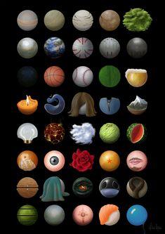 Material Studies, Mehdi Abdi on ArtStation at https://www.artstation.com/artwork/qoDGL